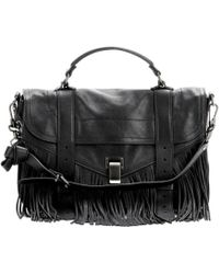 Proenza Schouler Ps1 Medium Fringe Leather Tote - Lyst