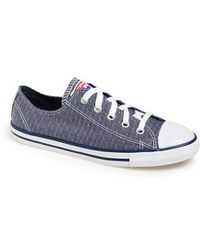 Converse Chuck Taylor All Star 'Dainty' Chambray Sneaker blue - Lyst