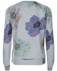 Paul by Paul Smith - Floral Print Jumper - Lyst