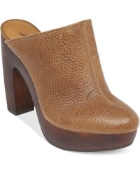 Lucky Brand Colliee Platform Mules - Lyst