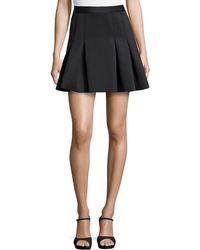 Rachel Zoe Scuba Jersey Full Skirt - Lyst