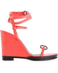 Opening Ceremony 'Kali' Wedge Sandals - Lyst