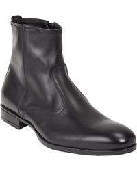 Doucal's Side Zip Boot - Lyst