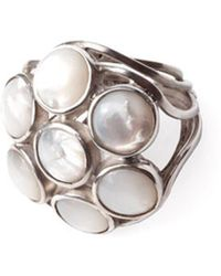 Isabel Englebert - Morroco Mother Pearl Ring Silver - Lyst
