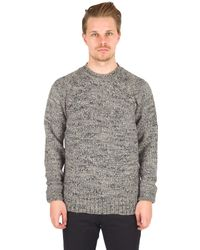 Alex Mill | Grinta Sweater In Silver Donegal | Lyst