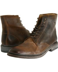 Frye James Lace Up - Lyst
