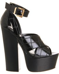 Office Stand Up Chunky Sandal - Lyst