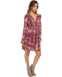 Free People Bridgette Mini Dress - Lyst