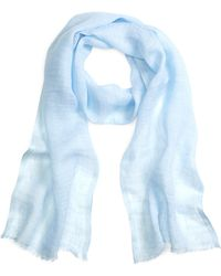 Brooks Brothers Linen Scarf - Lyst