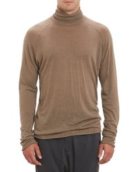 Haider Ackermann Turtleneck Pullover Sweater - Lyst