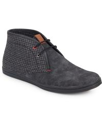 Ben Sherman | Victor Suede & Checked Chukka Boots | Lyst
