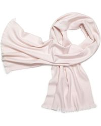 Tory Burch All-Over T Skinny Scarf - Lyst