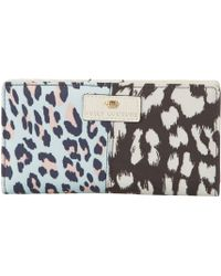 Juicy Couture Rosewood Power Clashing Continental Wallet - Lyst
