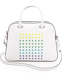 Milly Color Digital Satchel - Lyst