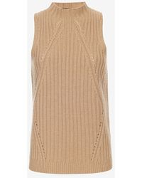 Exclusive For Intermix - Mock Neck Ribbed Knit - Lyst