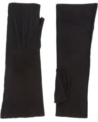 Barneys New York | Long Leather Gloves | Lyst
