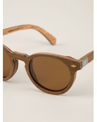 Shwood - 'Florence' Sunglasses - Lyst
