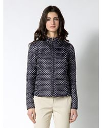 Patrizia Pepe Ultra Light Down Jacket with Real Down - Lyst