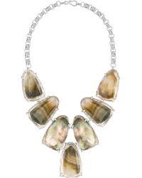 Kendra Scott - Harlow Shell Bib Necklace - Lyst