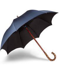 Francesco Maglia Bamboo Wood-handle Umbrella - Lyst