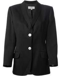 Valentino Vintage Two Button Blazer - Lyst