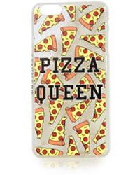 TOPSHOP - Pizza Queen Iphone 6 Plus Case By Skinnydip - Lyst