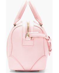 Givenchy Pink Leather Lucrezia Mini Duffle Bag - Lyst