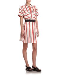 Creatures of the Wind Danae Striped Linen Shift - Lyst