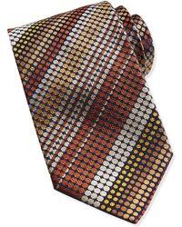Missoni Zigzag Circle Knit Tie - Lyst