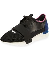 Balenciaga Bicolor Trainer Sneaker - Lyst