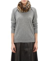Barneys New York Fur Cowl - Lyst