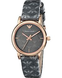 Emporio Armani Pink watches - Lyst