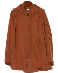 O'2nd - Hooded Trapeze Jacket - Lyst