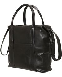 Maison Margiela Vintage Leather Bag - Lyst
