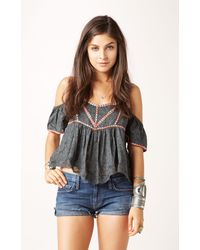 Free People Chicka Chicka Boom Boom Top - Lyst