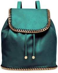 Stella McCartney Falabella Drawstring Backpack - Lyst