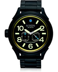 Nixon | October Tide Stainless Steel Watch | Lyst