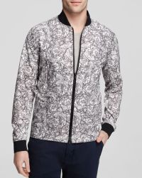 Theory Slim-Fit Floral Jacket multicolor - Lyst