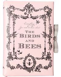 My Flat In London - Birds & Bees Book Clutch - Lyst