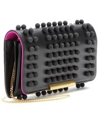Emilio Pucci Studded Leather Wallet - Lyst