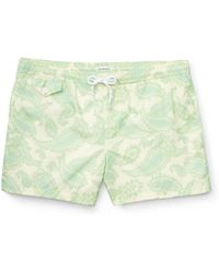 Club Monaco 4 Paisely Arlen Swim Trunk - Lyst
