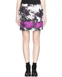 Alexander Wang Tie Dye Print Skirt - Lyst