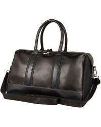 River Island Black Structured Holdall - Lyst