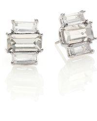 Kate Spade Faceted Cluster Earrings - Lyst