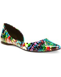 Steve Madden Multicolor Elusion Flats - Lyst