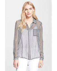 Diane von Furstenberg 'Lorelei 2' Print Silk Shirt - Lyst