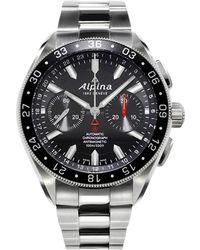 Alpina - Al-860b5aq6b Men's Chronograph-4 Automatic Sports Bracelet Strap Watch - Lyst