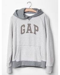 Gap Colorblock Logo Hoodie - Lyst