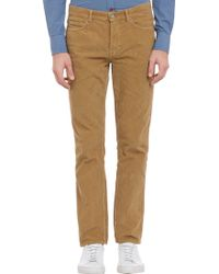 Band Of Outsiders Corduroy Fivepocket Trousers - Lyst