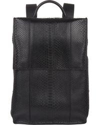 Balenciaga Python Phileas Backpack - Lyst
